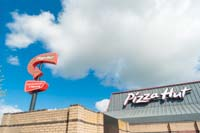 commercial photo shot for pizza hut hull